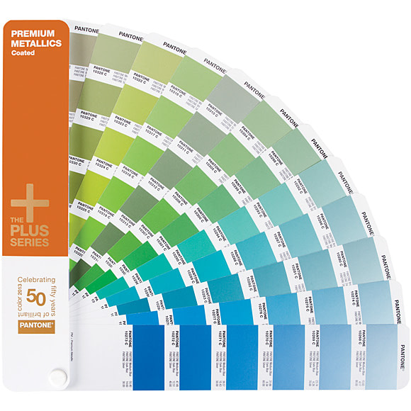 Pantone GB1405 Premium Metallics Chips Coated