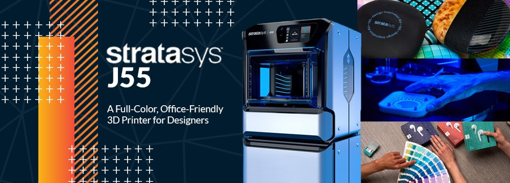 Stratasys J55: The First Office Friendly Multi-color 3D Printer for Product Design