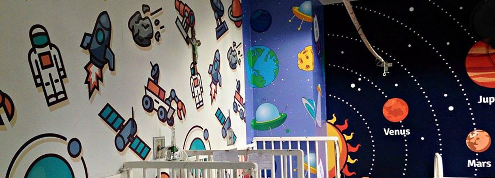 Vibrant Rooms Paint Difference for Patients at National Children's Hospital