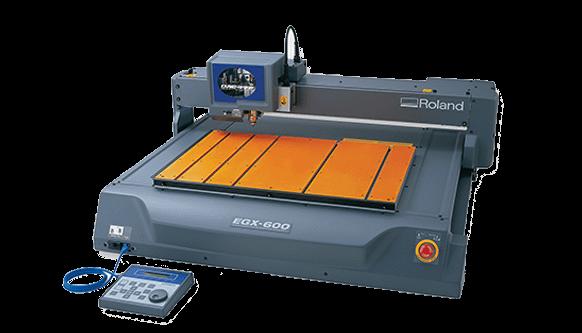 Roland EGX 400 & EGX 600 Professional CNC Rotary Engravers