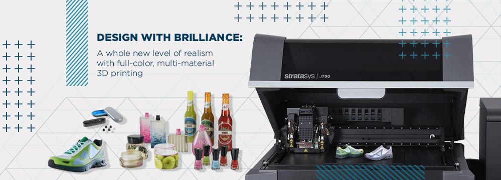 Stratasys J750: Full-Color Multi-Material 3D Printer