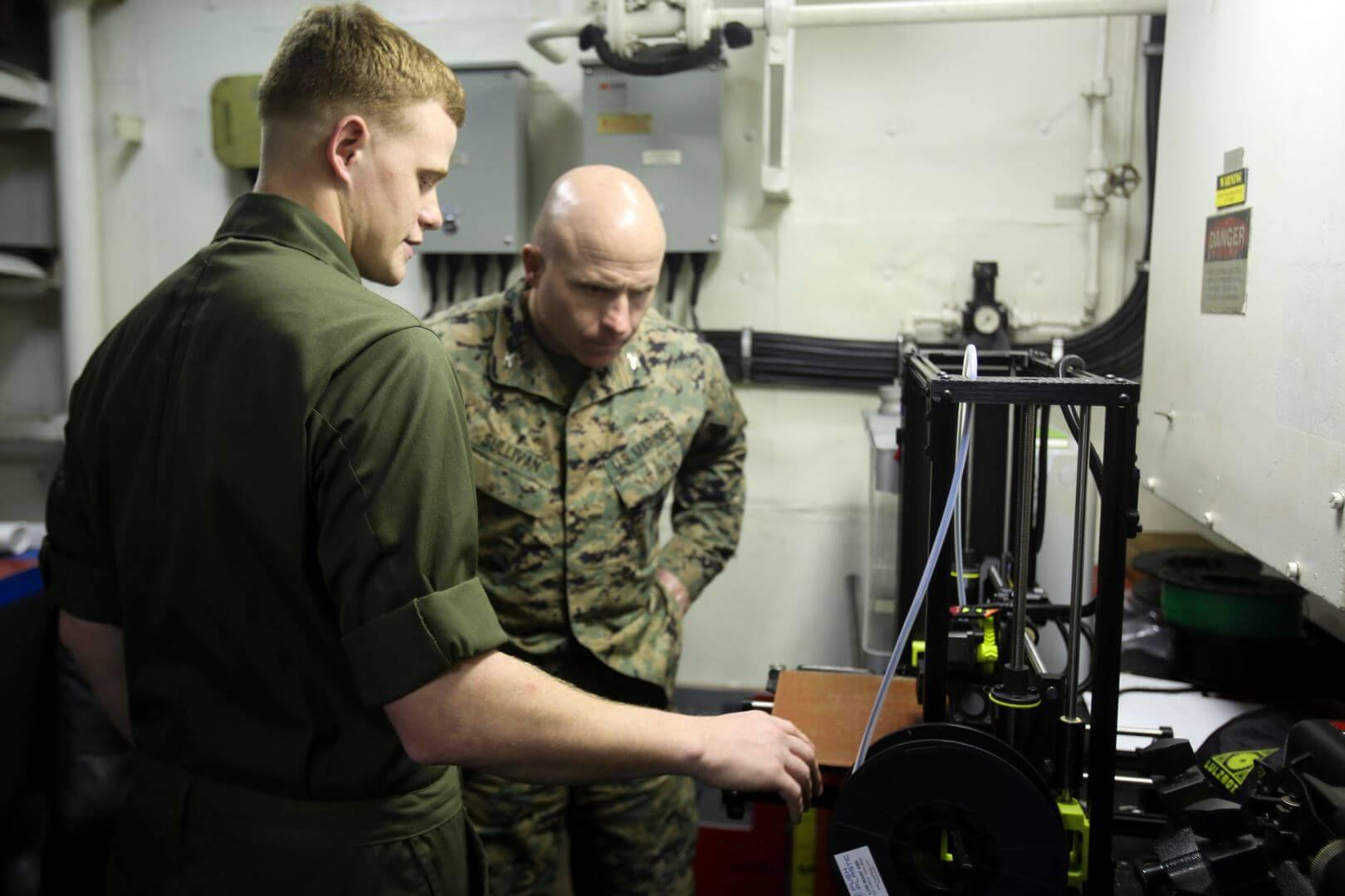 Lulzbot TAZ 6_US Marine Corps