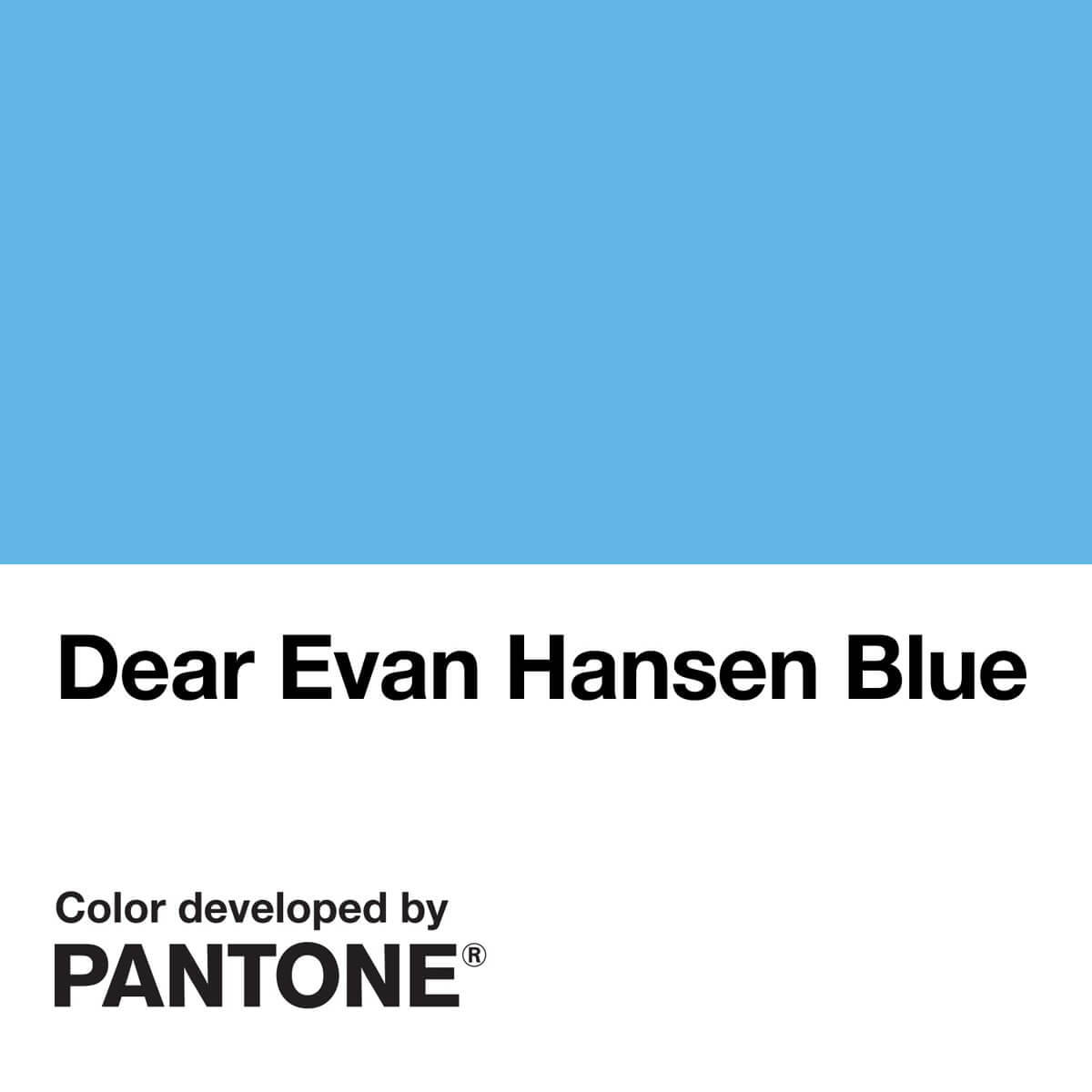 Pantone_Dear Evan Hansen