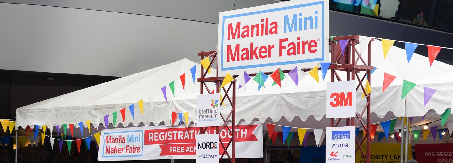 Manila Mini Maker Faire 2019: Festival of Creations